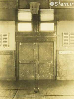 اولین سالن بسکتبال در دانشگاه ماساچوست
